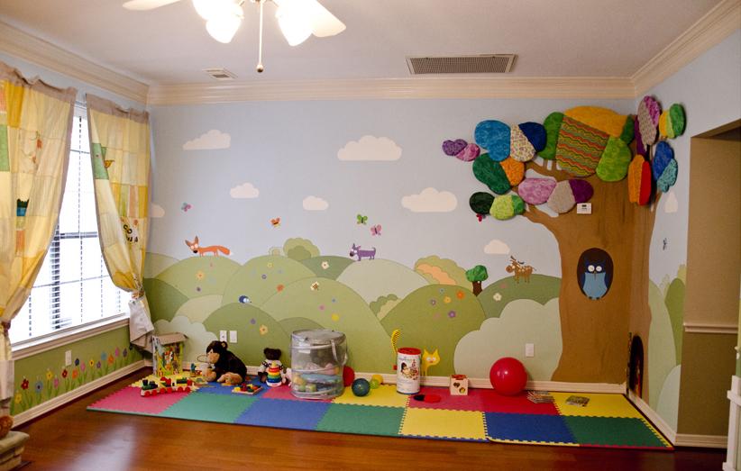 Оформление игровой комнаты в детском саду фото своими руками 63